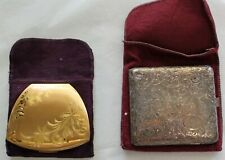 Set of 2 Vintage Makeup Compacts