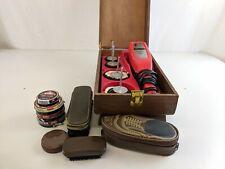 Vintage Signature Shoe Polisher box accessories