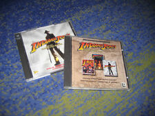 PC LucasArts Indiana Jones 3 + 4 + 5 triologie culto ADVENTURE KIT tedesco