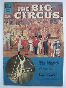 Big Circus (Aug 1959, Dell) Four Color #1036 [VG+ 4.5]