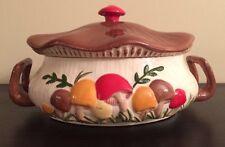 Vintage Arneis Mushroom Casserole with Lid