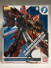Bandai The Gundam Base Limited MG 1/100 MSN-06S Sinanju Mechanical Color Version