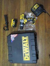 """New 20v DCD996 DEWALT 1/2"""" Brushless XR Hammer Drill Driver w/ Battery DCB205"""