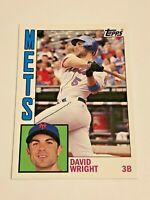2012 Topps Archives Baseball Base Card #180 - David Wright - New York Mets