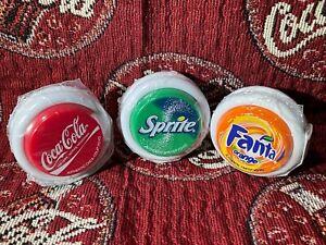 COCA COLA YO YO AUTHENTIC 3 2008 BP SERVICE STATION RELEASED FANTA & COKE SPRITE