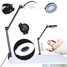 Lupenleuchte Lupenlampe mit Tischklemme 5 Dioptrien Kaltlicht Arbeitsleuchte 15W