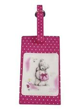 Me to You Tatty Teddy Sketch Book Luggage Tag. Cute Bear Gift Holiday Accessory