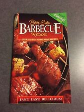 Best-Ever Barbecue Over 100 Recipes Cookbook 1998 Color Paperback 1st Edition