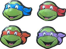 Set of all 4 Teenage Mutant Ninja Turtles Shell Sours Candy Tins! TMNT