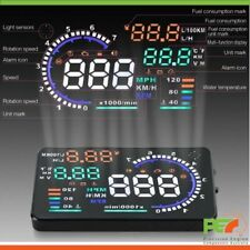 """New A8 5.5"""" Head Up Display OBD2 Windscreen Dashboard Projector For Audi A3 A4"""