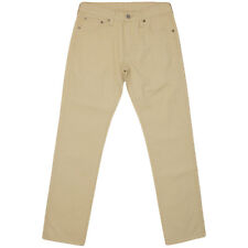 Levi's 505 Chino Trousers Jeans Pants Jeans Beige 100% Genuine - NEW