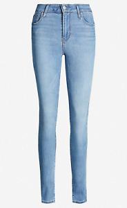 Levis 721 Jeans High Rise Skinny Jeans Denim Pants 24W 25W 26W 27W 28W 29W 30W