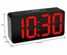 Acctim 2 USB Ports Jumbo LED Digital Alarm Clock 15343 New in Box