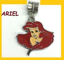 Disney Little ARIEL Charm For European Style Bracelets Chain Necklace Pendant AA
