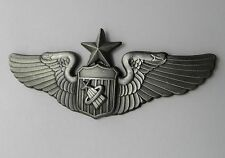 USAF AIR FORCE ASTRONAUT WINGS SENIOR LAPEL PIN BADGE 3 INCHES