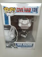 Civil War Captain America War Machine Funko Pop #128