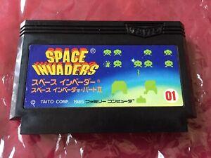 FAMICOM SPACE INVADERS 2 II 1985 TAITO Nintendo FC WORLD FREE POST