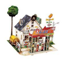 1:24 Diy Miniature Dollhouse Furniture Kit 3D Puzzle Birthday Christmas Gift