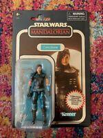 "Star Wars Cara Dune Vintage Collection Mandalorian Carbonized GINA CARANO 3.75"""