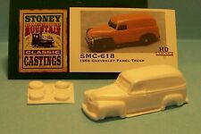 SMC-618 1950 Chevy Panel  HO-1/87th Scale White Resin Kit (unfinished)
