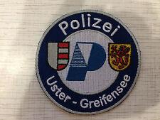 Swiss Police Patch Uster Stadt Polizei Uster-Greifensee Switzerland Super Rarity