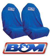2 X B&M THROW OVER SEAT COVERS FORD FALCON AU BA BF FG GT GTP FPV PURSUIT UTE