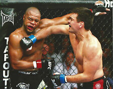 Lyoto Machida & Rashad Evans UFC 98 8x10 Photo Picture Poster Title Shot Match