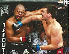 Lyoto Machida & Rashad Evans UFC 98 8x10 Photo Picture Poster Title Shot Match