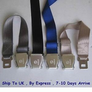 Airline Airplane Seat Belt buckle Fashion Belt Adjust Length 46inch Choose Color