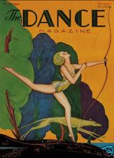 Dance Magazine Diana Huntress Varga greyhound art print SKU1271