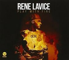 Rene Lavice - Playing With Fire CD RAM Record NEU