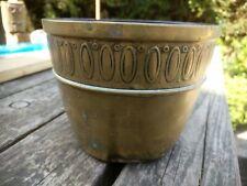 Antique/ Vintage Brass Planter