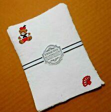 Handmade Paper Sheets - 9 sheets - Bears at the Beach (852)) Free Shipping