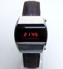 Electronics  Elektronika 1 Vintage RED LED digital watch Pulsar USSR
