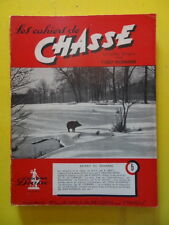 Les Cahiers de Chasse n° 5 1950 Afrique petit coq nuisibles gibier d'eau