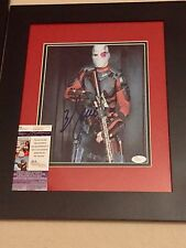 Will Smith signed & framed autographed photo Deadshot Suicide Squad JSA batman