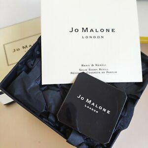 New in box Jo Malone Fragrance Combining Basil & Neroli Solid Scent 2.5g