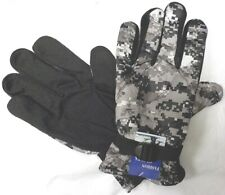 NEW DIGITAL CITY CAMO MEN DRIVING SPORT HANDS GLOVES DOTS GRIP FUR WINTER M/L/XL