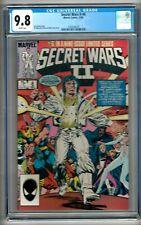 Secret Wars II #6 (1985) CGC 9.8  White Pages  Shooter - Milgrom - Leialoha