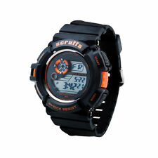Scruffs T51415 Water Resistant Shock Proof Digital Watch - Black