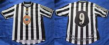 Alan Shearer #9 NEWCASTLE UNITED Home shirt by ADIDAS 1997-1999 /adult/ L