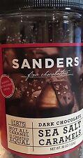 36 OZ Sanders Dark Chocolate Sea Salt Caramels, Free Shipping
