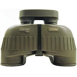 Steiner Warrior 7x50 Fernglas Military Binoculars Jagd Bundeswehr Oliv + Tasche