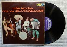 LOS XOCHIMILCAS Mas Tandas  Orig PEERLESS Mexico Rock Vinyl LP US Pressing VG++