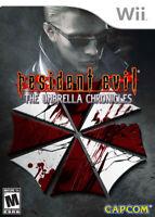 Resident Evil: The Umbrella Chronicles [Nintendo Wii Survival Horror Capcom] NEW