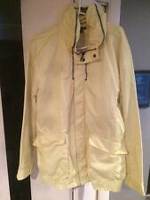 John Varvatos Collection light yellow hideaway hooded casual jacket MSRP $995