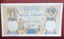 France - Joli BILLET  de  1000  Francs du 6-7-1939