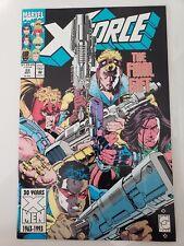 X-FORCE #22 (1993) MARVEL COMICS DOMINO! DEADPOOL! WARPATH! GREG CAPULLO ART!
