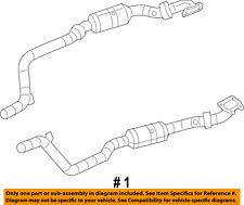 CHRYSLER OEM 300-Exhaust System-Catalytic Converter & Pipe Right 68091590AE