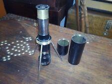 Antique Pocket/Field Microscope Spindler & Hoyer Junior Germany 1920's